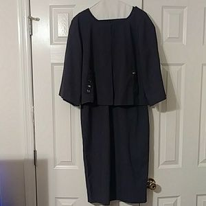 2pc Newport News Dress and Jacket
